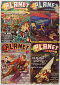 Pulps:Science Fiction, Planet Stories Group (Fiction House, 1939-50) Condition: AverageGD.... (Total: 23 Items)
