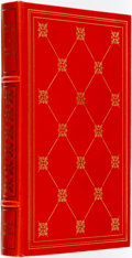 Books:Fine Bindings & Library Sets, Alison Lurie. SIGNED/LIMITED. Foreign Affairs. Franklin Center: Franklin Library, 1984. ...