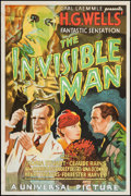 """Movie Posters:Horror, The Invisible Man (S2 Art Group, 1999). Reproduction One Sheet (27""""X 41""""). Horror.. ..."""
