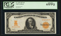 Large Size:Gold Certificates, Fr. 1168 $10 1907 Gold Certificate PCGS Gem New 65PPQ.. ...