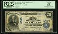 National Bank Notes:Colorado, Yuma, CO - $20 1902 Plain Back Fr. 654 The First NB Ch. # 10093....