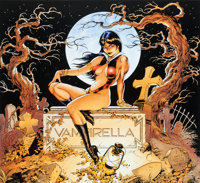 Dave Stevens Back From The Grave Vampirella Signed Limited Edition Print #39/850 (Harris Publications, 1992)