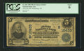 National Bank Notes:Kentucky, Whitesburg, KY - $5 1902 Plain Back Fr. 604 The First NB Ch. #(S)10433. ...