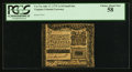 Colonial Notes:Virginia, Virginia July 17, 1775 1s/3d Small Format PCGS Choice About New 58.. ...