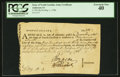Colonial Notes:North Carolina, State of North Carolina. Continental Line of this State Certificate£139 18s 3d Anderson NC-14. ...