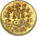 Ancients:World, Ancients: Visigothic Spain. Sisebut (612-21) gold Tremissis ND MS62 ANACS, ...