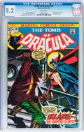 Bronze Age (1970-1979):Horror, Tomb of Dracula #10 (Marvel, 1973) CGC NM- 9.2 White pages....