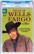 Silver Age (1956-1969):Western, Four Color #1023 Tales of Wells Fargo (Dell, 1959) CGC NM 9.4Off-white to white pages....