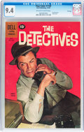 Silver Age (1956-1969):Adventure, Four Color #1168 The Detectives - File Copy (Dell, 1961) CGC NM 9.4 Off-white to white pages....