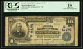 National Bank Notes:Tennessee, Jefferson City, TN - $10 1902 Plain Back Fr. 632 The First NB Ch. #(S)11479. ...