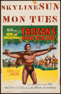 """Movie Posters:Adventure, Tarzan's Fight for Life & Others Lot (MGM, 1958). Window Cards(3) (14"""" X 22""""). Adventure.. ... (Total: 3 Items)"""
