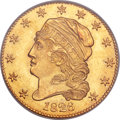 Early Half Eagles, 1826 $5 BD-2, R.8, MS66 PCGS. CAC....