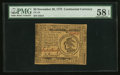 Colonial Notes:Continental Congress Issues, Continental Currency November 29, 1775 $3 PMG Choice About Unc 58EPQ.. ...