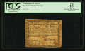 Colonial Notes:New York, New York June 15, 1780 $1 PCGS Apparent Fine 15.. ...