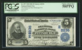 National Bank Notes:Pennsylvania, Pittsburgh, PA - $5 1902 Date Back Fr. 597 The Diamond NB Ch. #(E)2236. ...