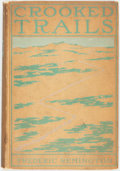 Books:Literature Pre-1900, Frederic Remington. Crooked Trails. New York: Harpers, 1898.First edition. Original cloth binding. Binding soiled. ...