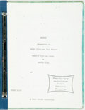 Books:Horror & Supernatural, [Screenplay, Stephen King]. Larry Cohen and Paul Monash.Carrie. Adapted from the novel by Steven [sic] King. 141pa...