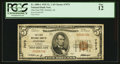 National Bank Notes:Alabama, Oxford, AL - $5 1929 Ty. 1 The First NB Ch. # 7073. ...