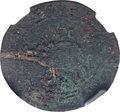 (1615-16) 6PENCE Sommer Islands Sixpence, Large Portholes -- Damaged -- NGC Details. VF. Breen-3, W-11445, R.6....(PCGS#...