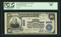 National Bank Notes:Missouri, Appleton City, MO - $10 1902 Plain Back Fr. 634 The First NB Ch. #2636. ...