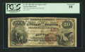 National Bank Notes:Kentucky, Clay City, KY - $10 1882 Brown Back Fr. 484 The Clay City NB Ch. #(S)4217. ...
