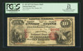 National Bank Notes:Nebraska, Omaha, NE - $10 1875 Fr. 420 The Nebraska NB Ch. # 2665. ...