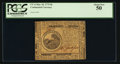 Colonial Notes:Continental Congress Issues, Continental Currency May 10, 1775 $6 PCGS About New 50.. ...