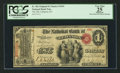 National Bank Notes:Kentucky, Lebanon, KY - $1 Original Fr. 382 The NB of Lebanon Ch. # 1694. ...