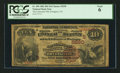 National Bank Notes:Virginia, Irvington, VA - $10 1882 Brown Back Fr. 490 The Lancaster NB Ch. #(S)5290. ...