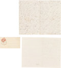 Political:Small Paper (pre-1896), Abraham Lincoln: Election of 1860 Eyewitness Accounts. ...
