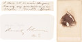 Autographs:U.S. Presidents, Abraham Lincoln: Highly Important Autograph Quotation Signed. ... (Total: 5 Items)