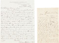 Political:Small Paper (pre-1896), [Abraham Lincoln]: Views Concerning Candidate and President-ElectLincoln. ...