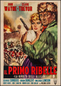 "Movie Posters:Action, Allegheny Uprising (RKO, R-1962). Italian 2 - Foglio (39.25"" X 54.75""). Action.. ..."