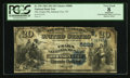 National Bank Notes:Tennessee, Johnson City, TN - $20 1882 Date Back Fr. 555 The Unaka NB Ch. #5888. ...