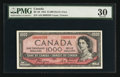 Canadian Currency: , BC-36 $1000 1954 Devil's Face. ...