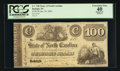Obsoletes By State:North Carolina, Raleigh, NC- The State of North Carolina $100 Jan. 30, 1862 Cr. 74B. ...