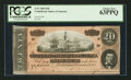 Confederate Notes:1864 Issues, T67 $20 1864 PF-15 Cr. 415.. ...