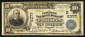 National Bank Notes:West Virginia, Philippi, WV - $10 1902 Plain Back Fr. 629 The Citizens NB Ch. #(S)6377. ...