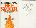 Books:Horror & Supernatural, Stephen King. INSCRIBED. Fire-Starter. New York: Viking,[1980]. First trade edition. Inscribed by the author and ...