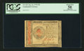 Colonial Notes:Continental Congress Issues, Continental Currency January 14, 1779 $70 PCGS Apparent About New50.. ...