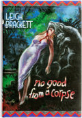 Books:Mystery & Detective Fiction, [Signed by Ray Bradbury and Michael Connelly]. [Leigh Brackett]. LIMITED. No Good from a Corpse: The Pulp Detective Fict...