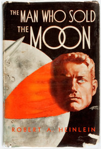 Robert Heinlein. The Man Who Sold the Moon. Chicago: Shasta Publishers, [1950]. First edition