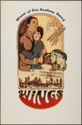 "Movie Posters:Academy Award Winners, Wings (R-1970s). One Sheet (27"" X 41""). Academy Award Winners.. ..."