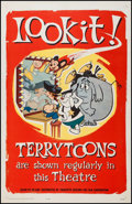 "Movie Posters:Animation, Terry-Toons Stock (20th Century Fox, 1962). One Sheet (27"" X 41"").Animation.. ..."