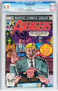 Modern Age (1980-Present):Superhero, The Avengers #228 (Marvel, 1983) CGC MT 9.9 White pages....