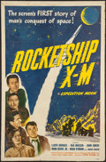 """Movie Posters:Science Fiction, Rocketship X-M (Lippert, 1950). One Sheet (27"""" X 41""""). Science Fiction.. ..."""