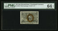 Fractional Currency:Second Issue, Fr. 1246 10¢ Second Issue PMG Choice Uncirculated 64 EPQ.. ...