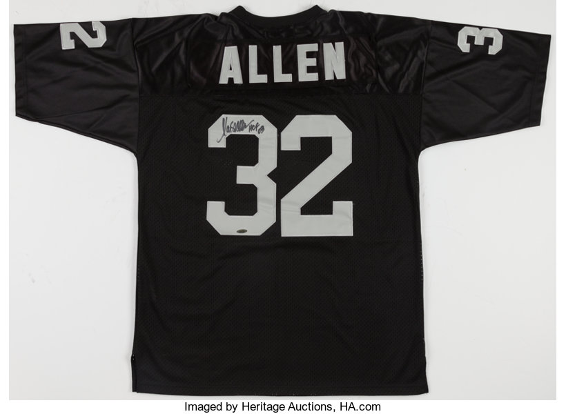 reputable site d9e81 0c23c Marcus Allen Signed Oakland/Los Angeles Raiders Jersey ...