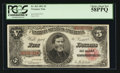 Large Size:Treasury Notes, Fr. 362 $5 1891 Treasury Note PCGS Choice About New 58PPQ.. ...
