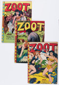 Golden Age (1938-1955):Funny Animal, Zoot Comics #9, 10, and 14 Group (Fox Features Syndicate,1947-48).... (Total: 3 Comic Books)